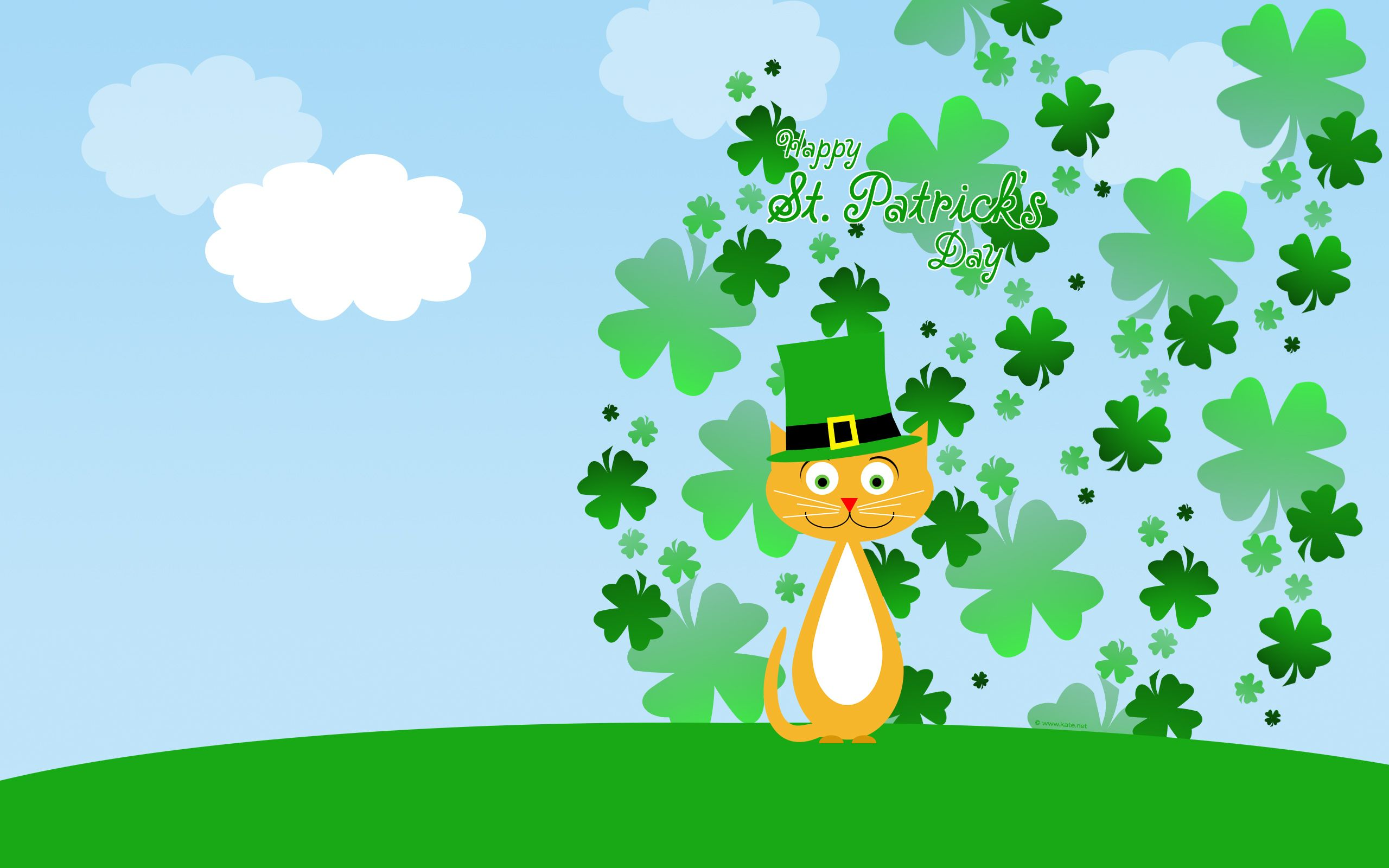 st patrick day shamrocks hqfx wallpapers for free