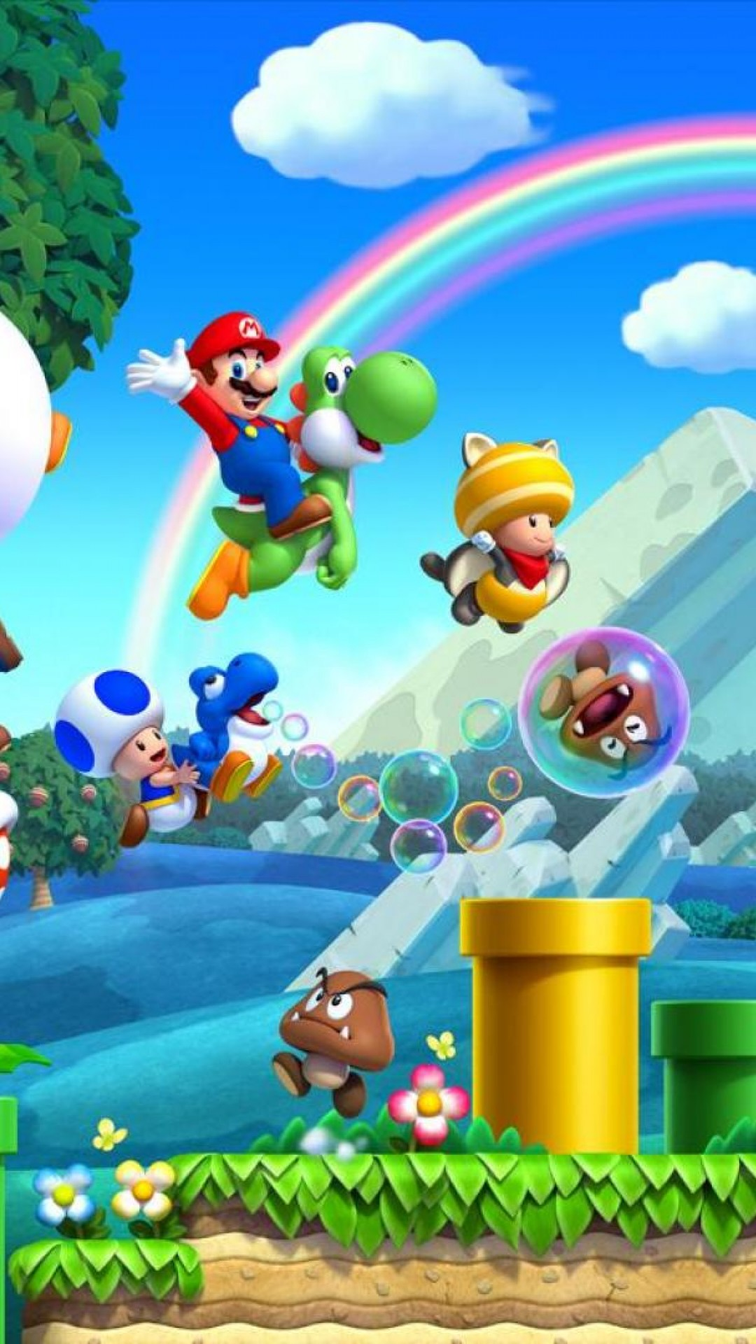Funny Mario And Luigi Minions HD Wallpaper iPhone 6 plus