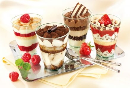 Sweet Dishes Wallpaper