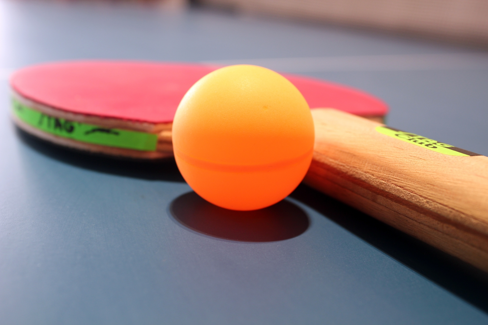 High Resolution Creative Table Tennis Pictures