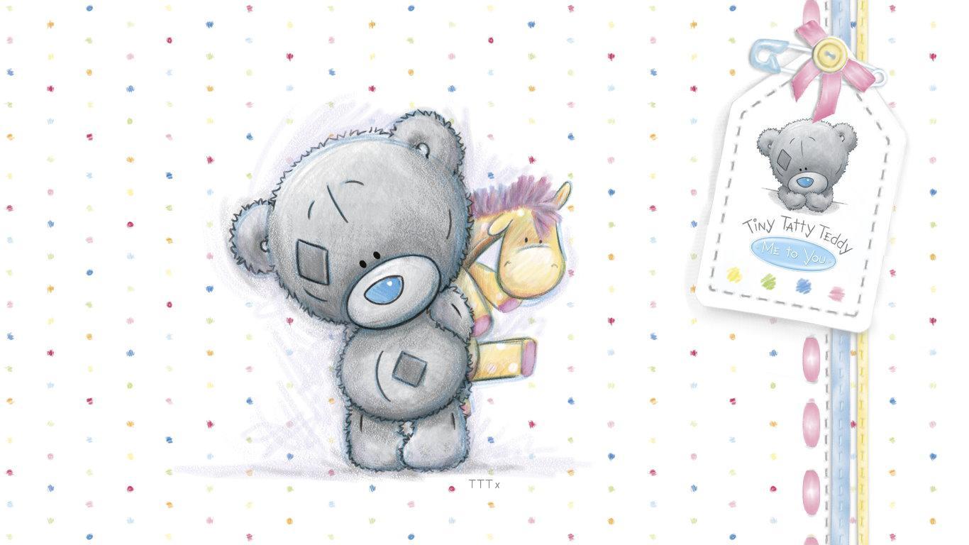 Me to you 6 tatty teddy collectors plush bear - wonderful niece plaque