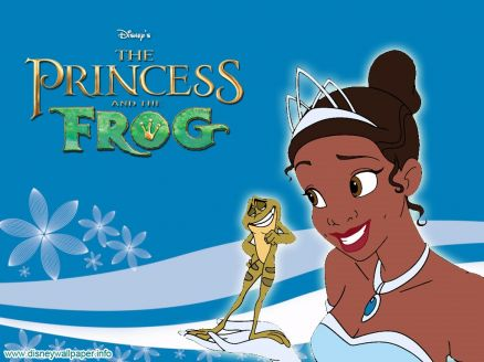 Wallpaper The Princess And The Frog