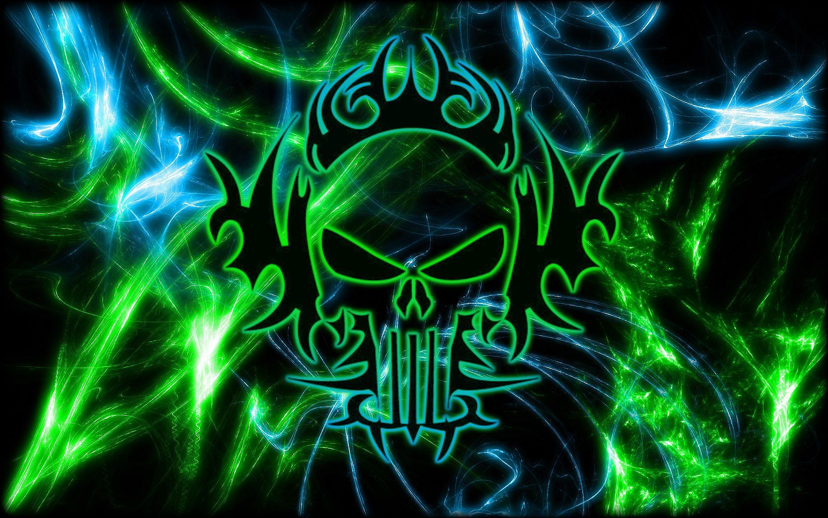 Group Of Tribal Neon Wallpapers