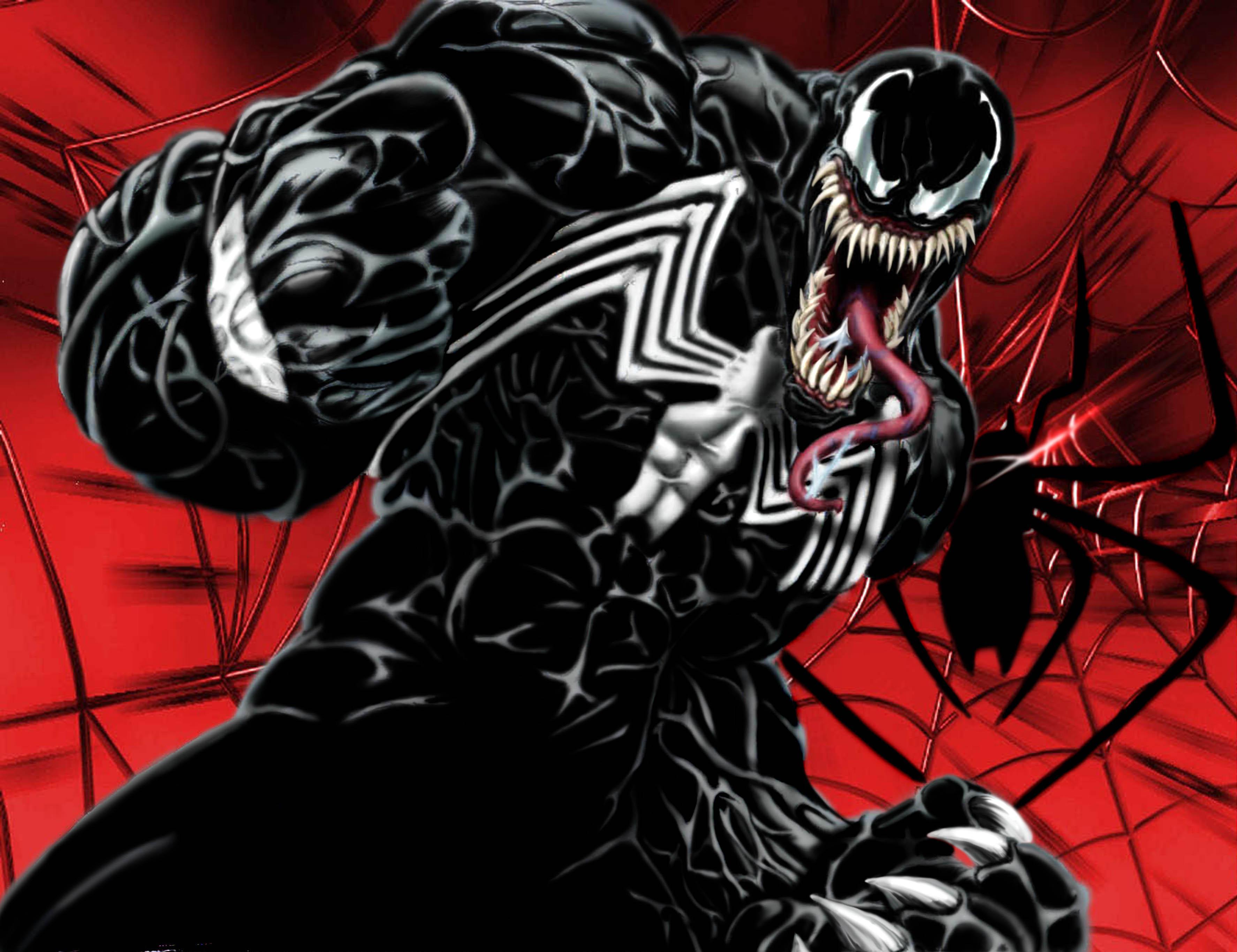 Spider Man Villains Images Spidey Vs Carnage And Venom Wallpaper