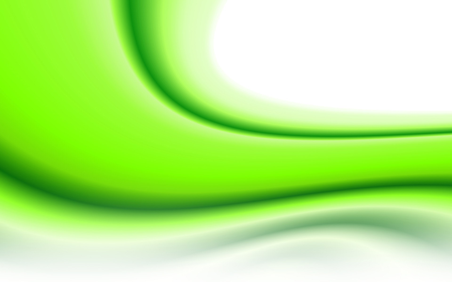 White And Green Abstract Wallpaper