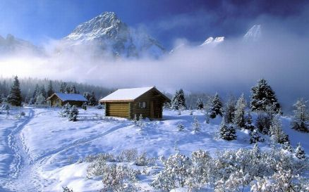 Pictures Of Winter Cabin