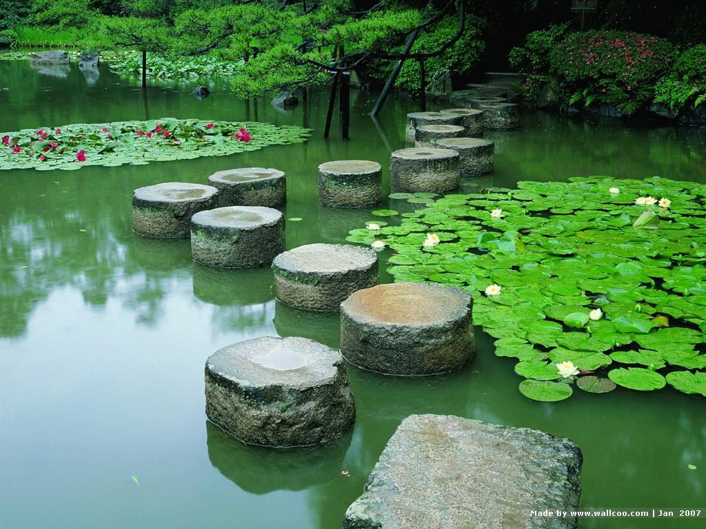 zen garden hqfx backgrounds