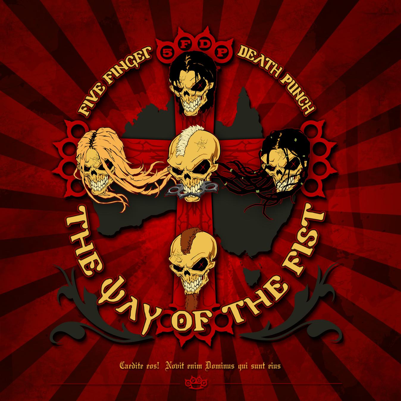 Hd Five Finger Death Punch 4k Wallpaper