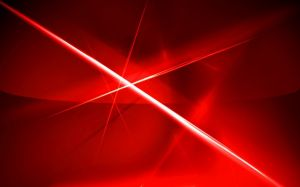 Abstract Red Image