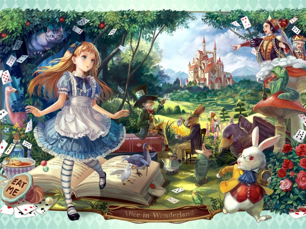 Alice Wonderland Pictures Free Download By Murat Durdy