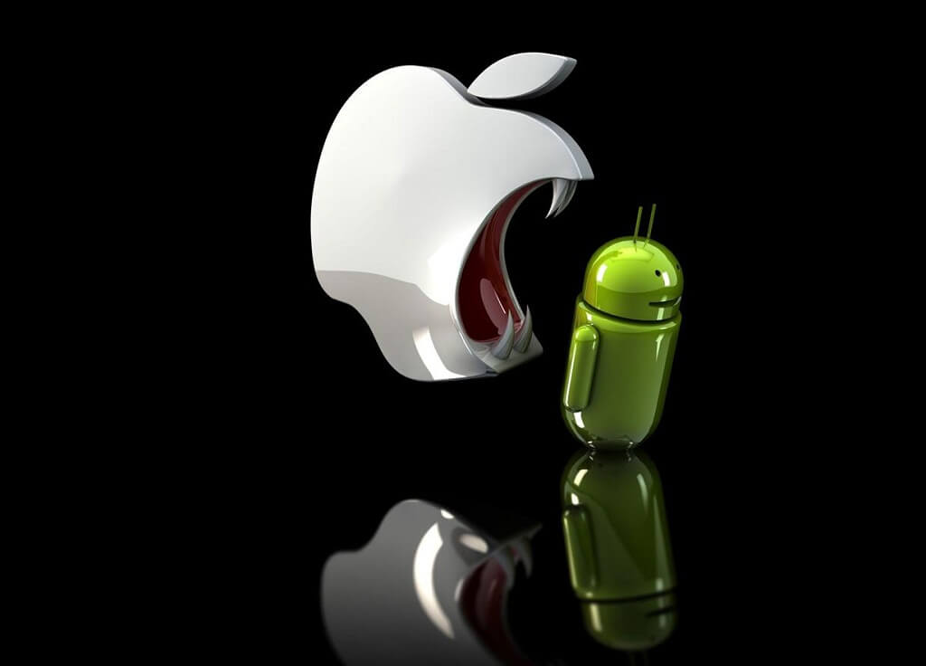 android-eating-apple-wallpaper