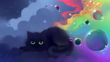 Anime Cat Wallpaper