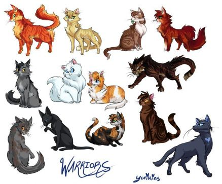 Anime Cats Picture