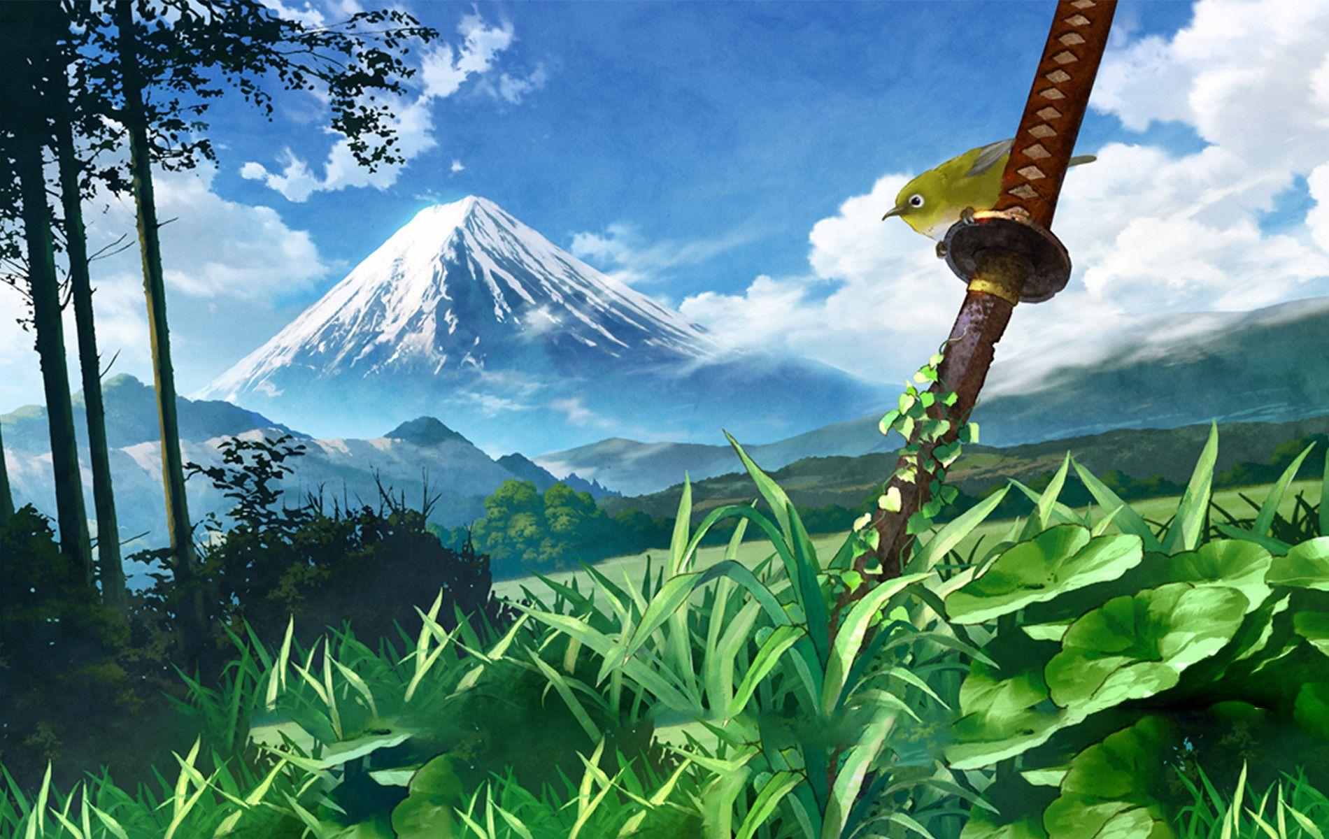 30 Beautiful Anime Landscape Wallpapers 4k Ultra Hd