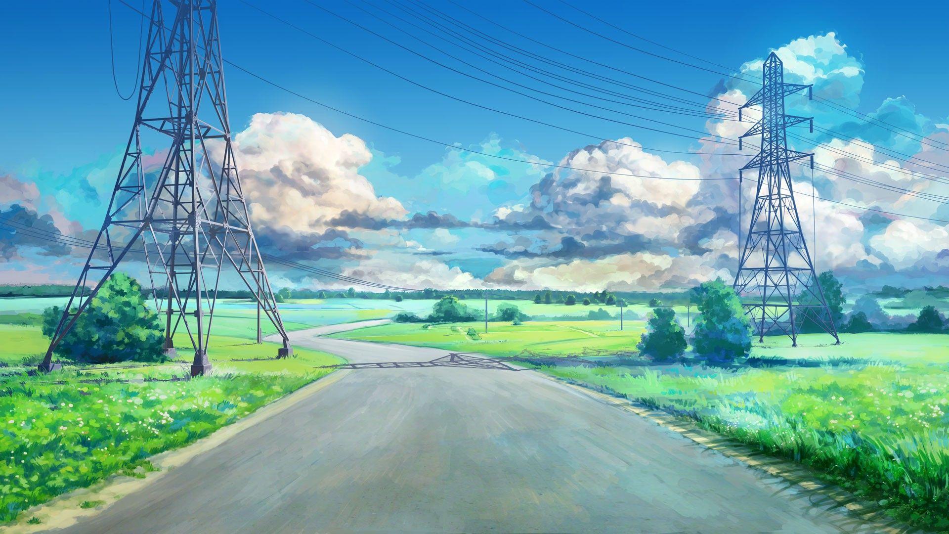 30+ Beautiful Anime Landscape Wallpapers 4K Ultra HD