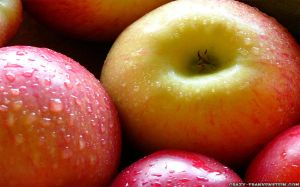 Wallpaper Apple Fruit