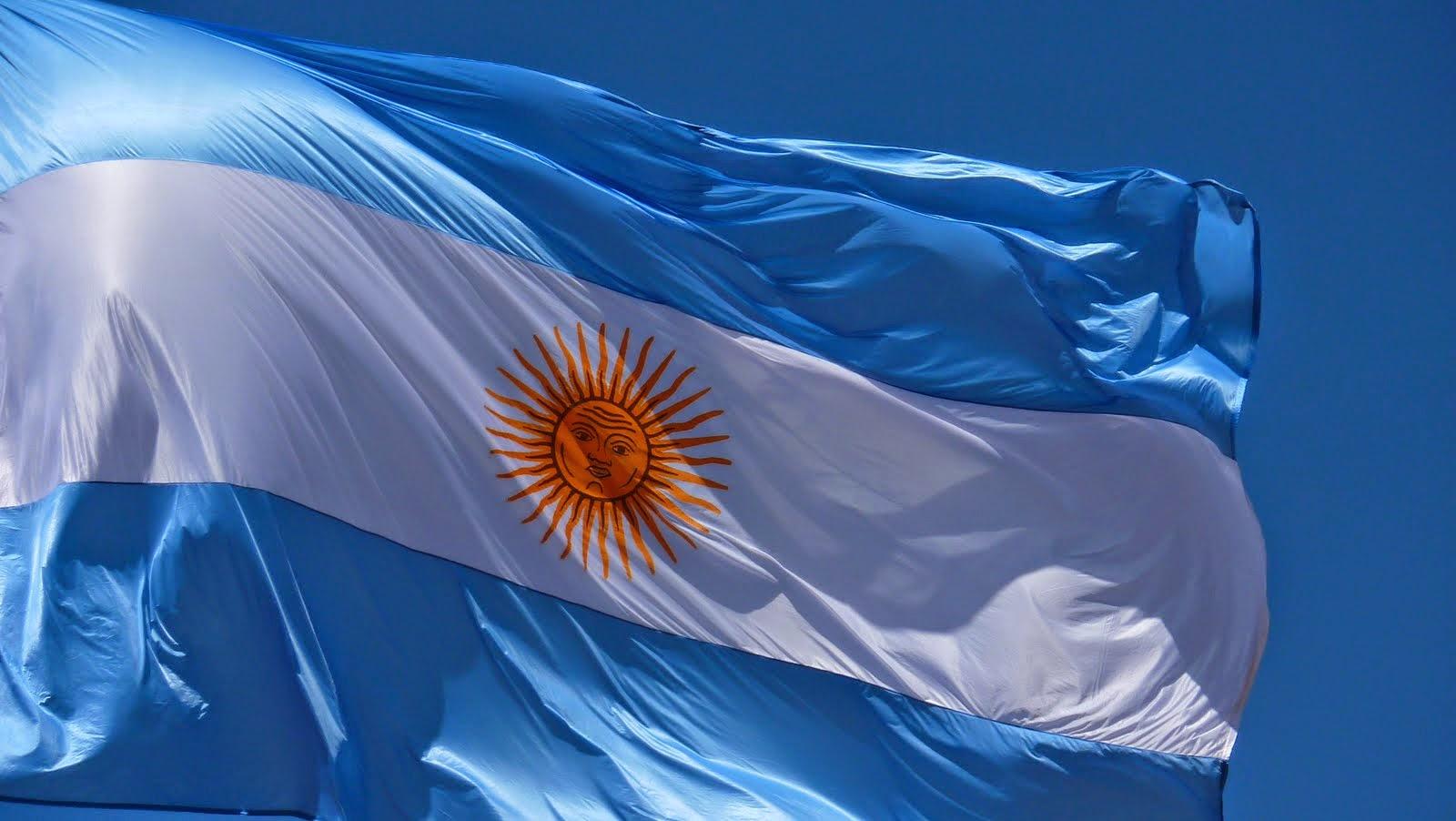 хорошему аргентина флаг фото стоит
