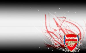 Wallpaper Arsenal Logo