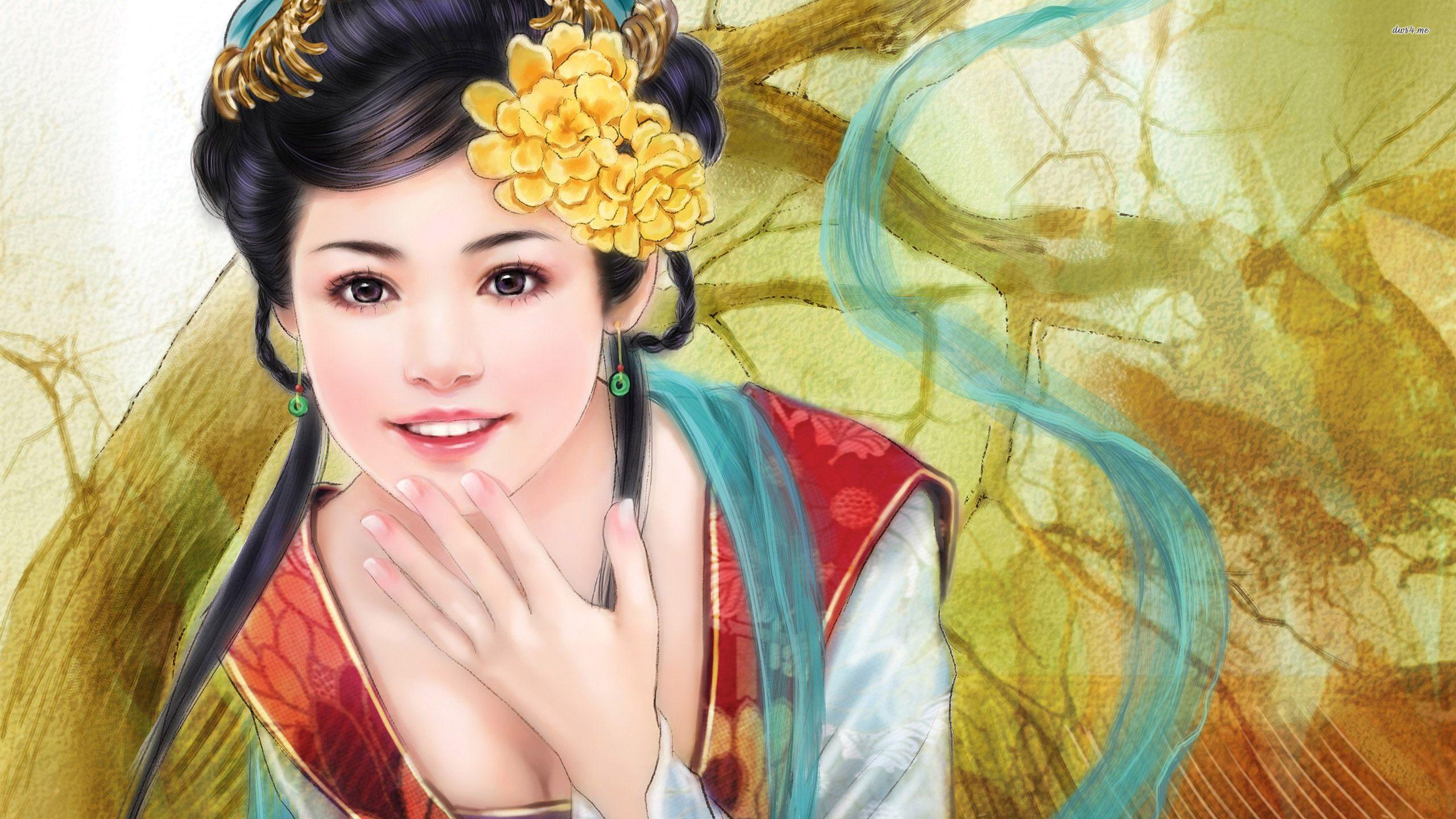 Cute Asian Girl Wallpapers Full HD Free