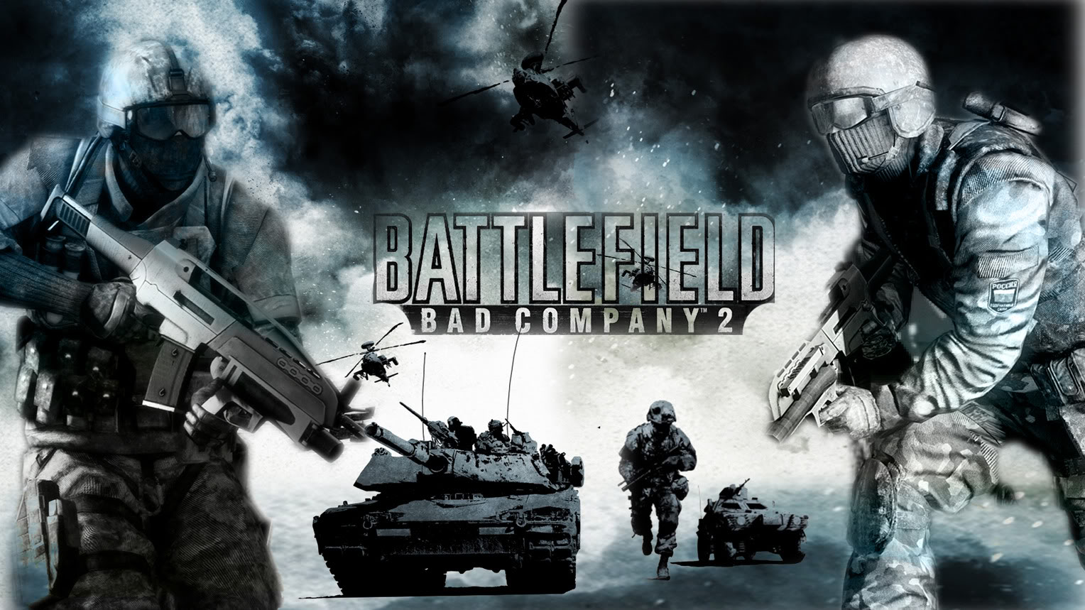 Battlefield Bad Company 2 Wallpaper For Android