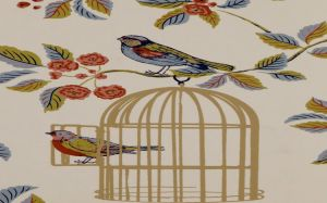 Bird Cage Wallpaper