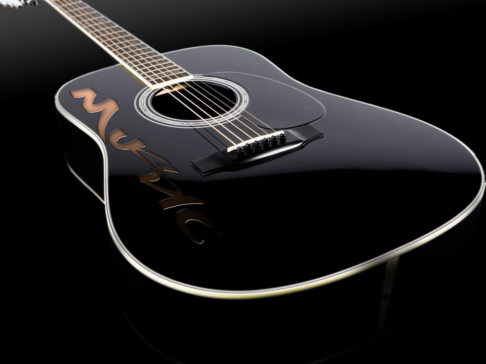 400 Wallpaper Black Guitar  Paling Keren