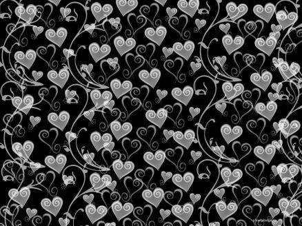 Black And White Heart Pictures
