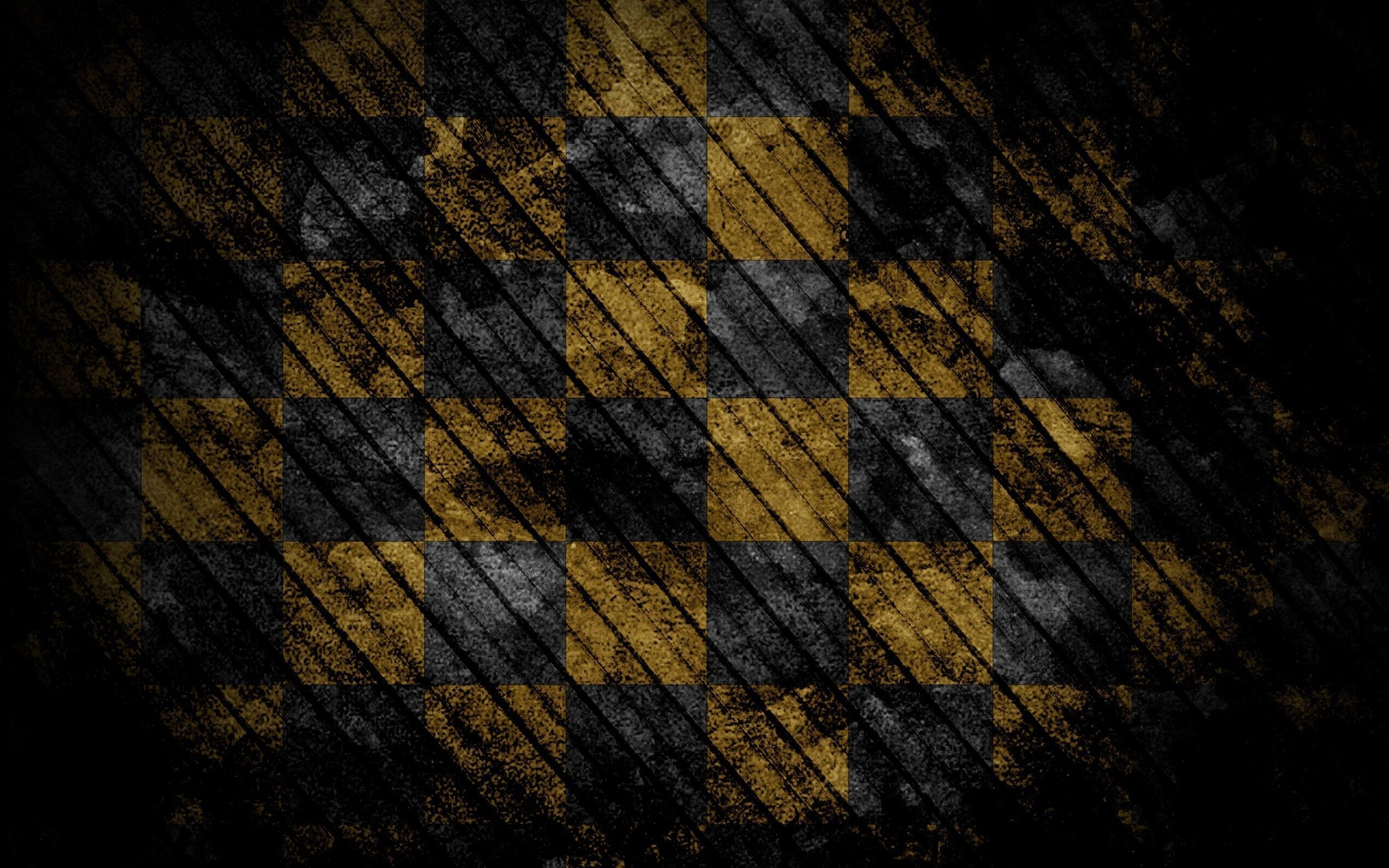 Hd Black And Yellow 4k Photo For Tablet Pc