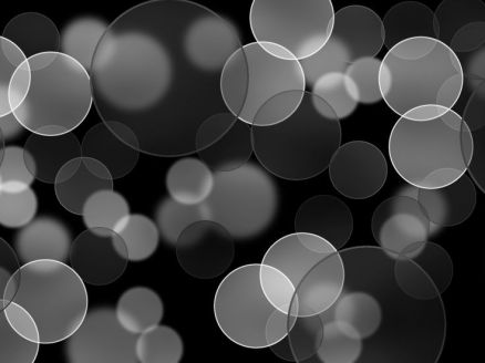 Black Bubbles Wallpaper HD