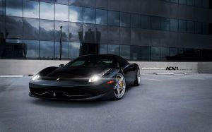 Black Ferrari Wallpapers