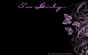 Black Girly Wallpapers