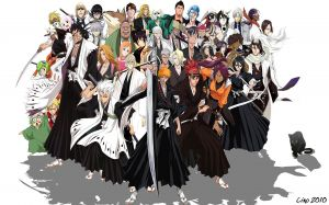 Image Bleach Characters