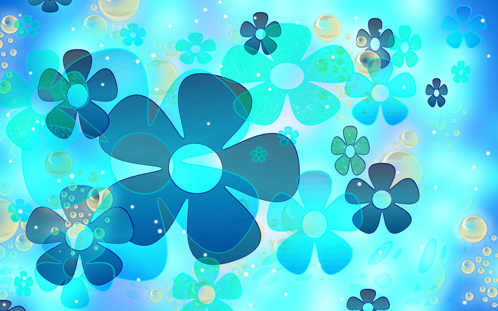 Hd Quality Blue And Pink Flower Fine Blue And Pink Flower Wallpapers
