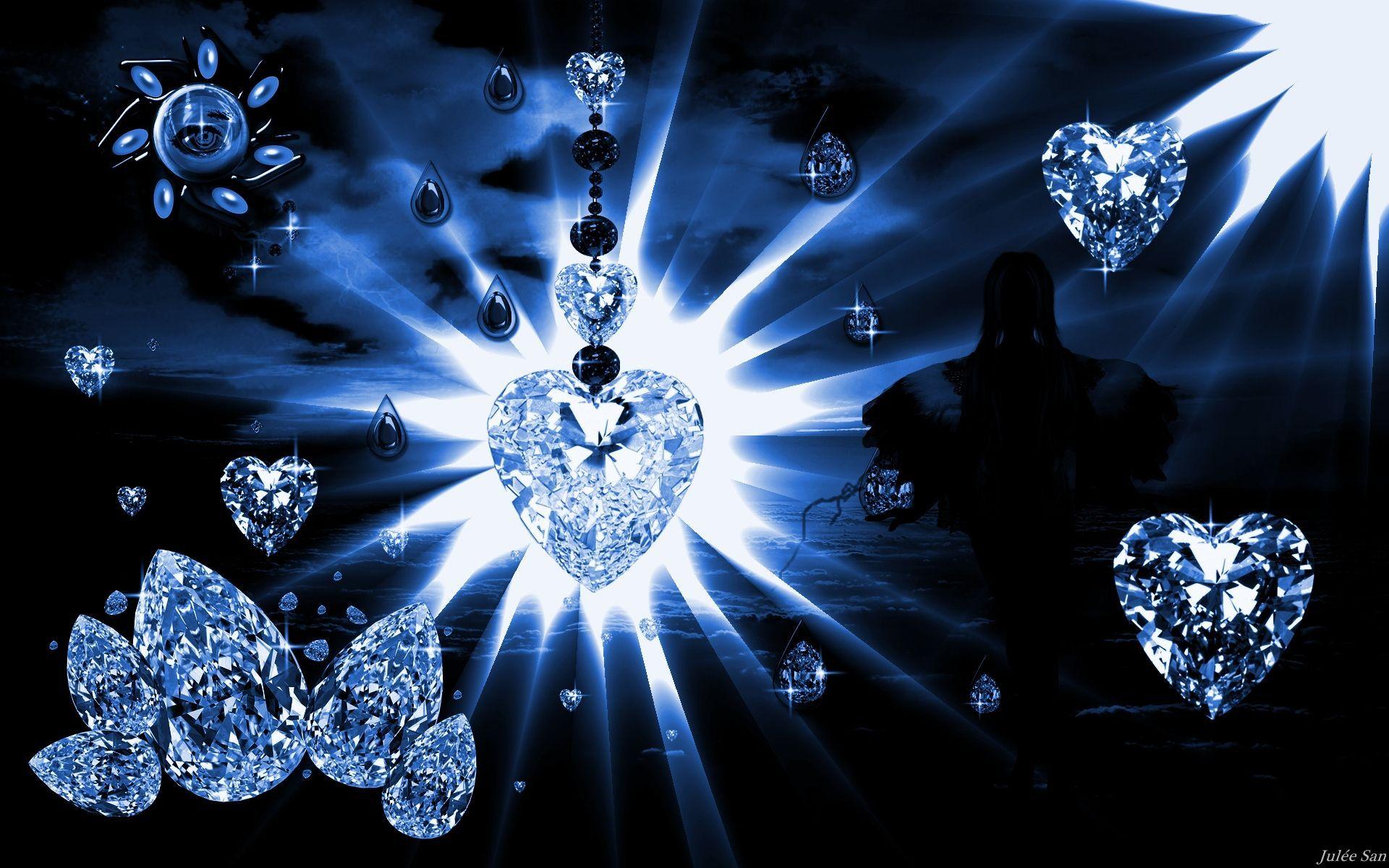 Hd Blue Diamond 4k Picture