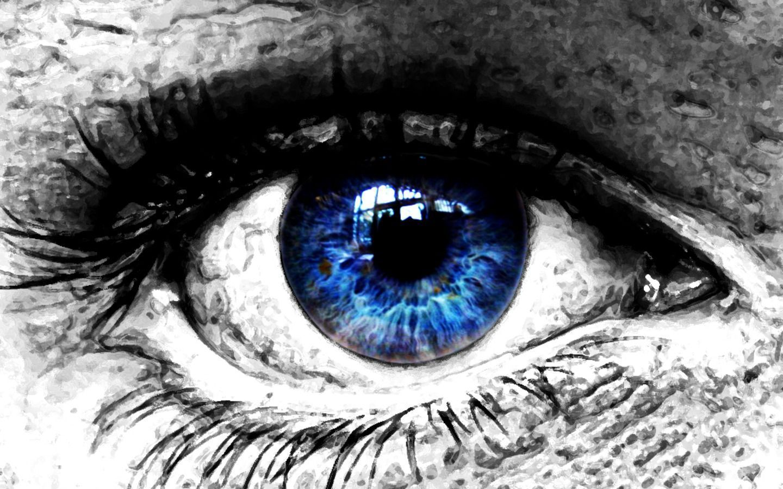Blue Eye Wallpaper For Tablet Pc