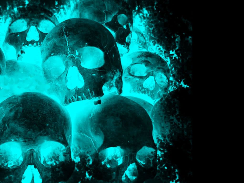 Blue Skull ID: 540319753 Wallpaper for Free - Adorable HD Widescreen Image