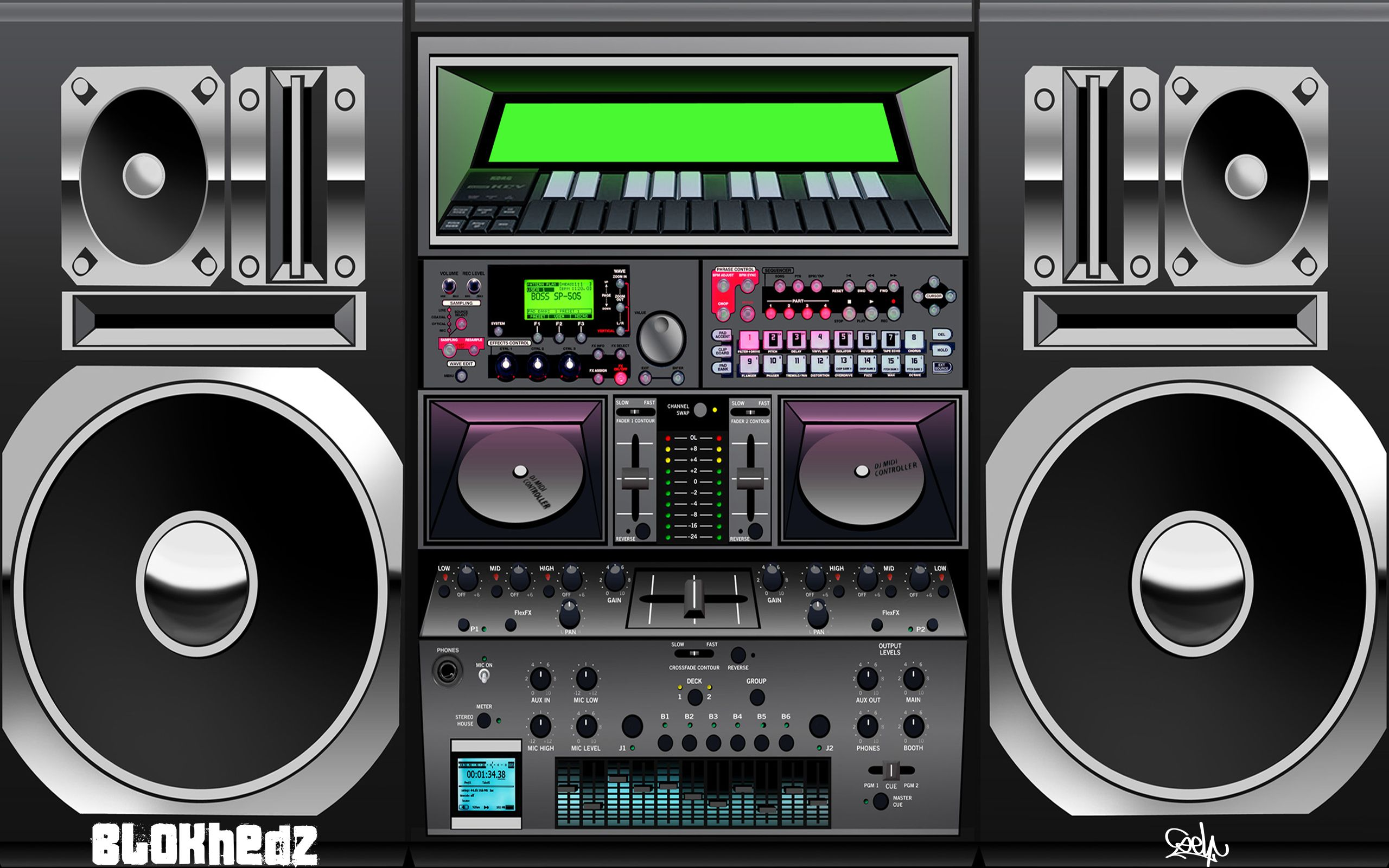 free download amazing boombox images