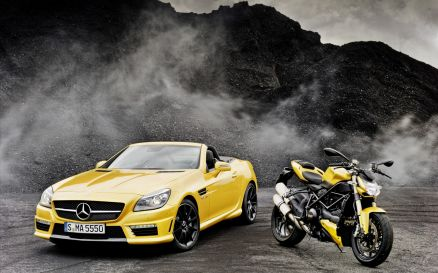 Car And Bike Wallpaper