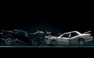 Car Crash Wallpaper