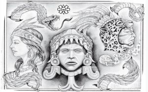 Chicano Art Wallpaper