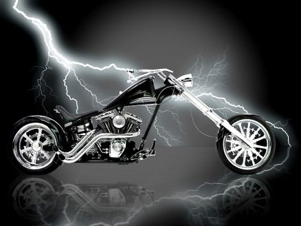Chopper Bike Wallpaper HD