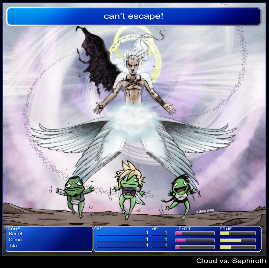Hdq Cover Images Collection Of Cloud And Sephiroth Parvana Baitman