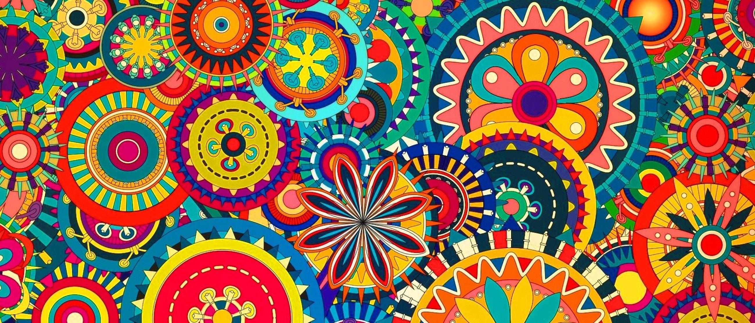 Pc Colorful Pattern Wallpapers Hollis Crossman