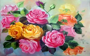 Pictures Of Colorful Roses