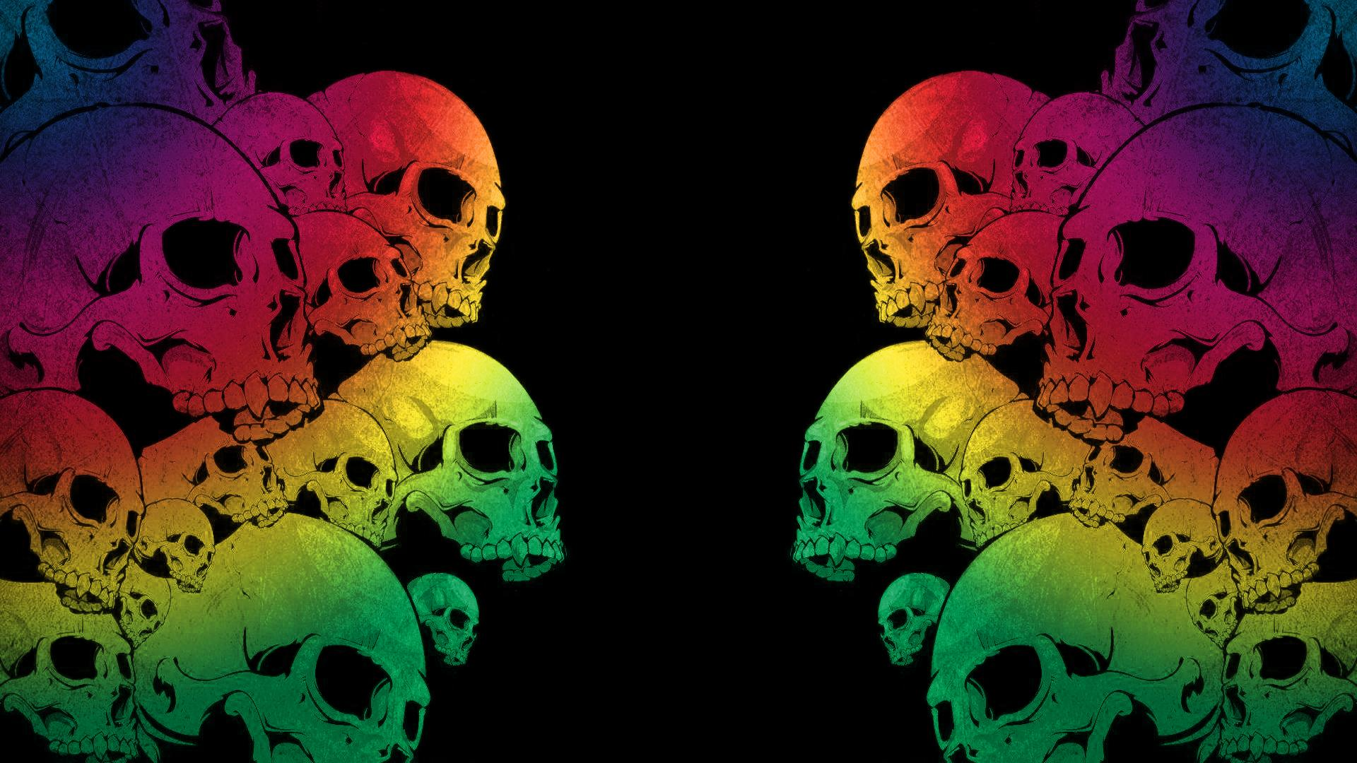 Colorful Skull Wallpapers, FHDQ Picture