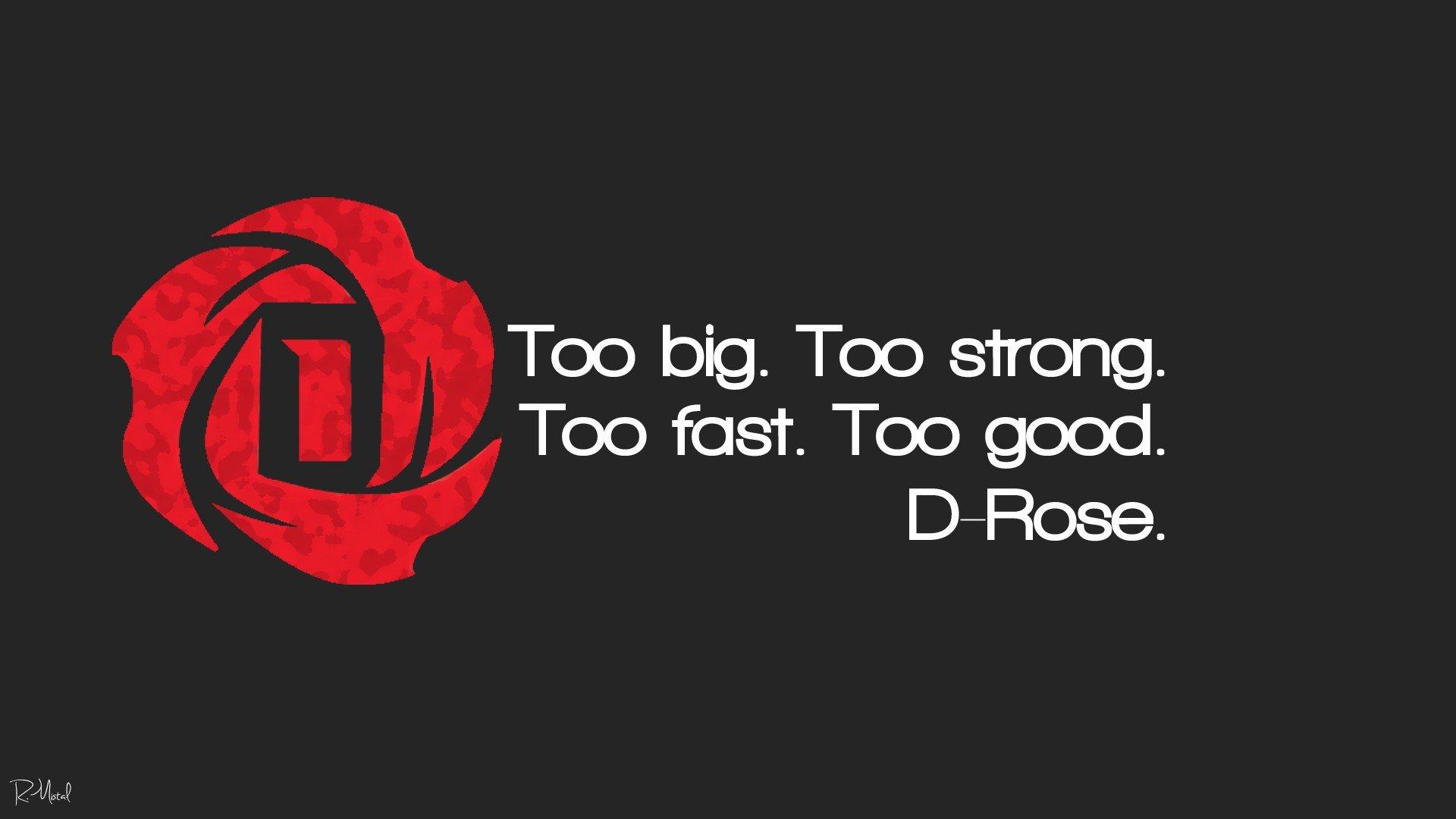 D Rose Logo Wallpaper
