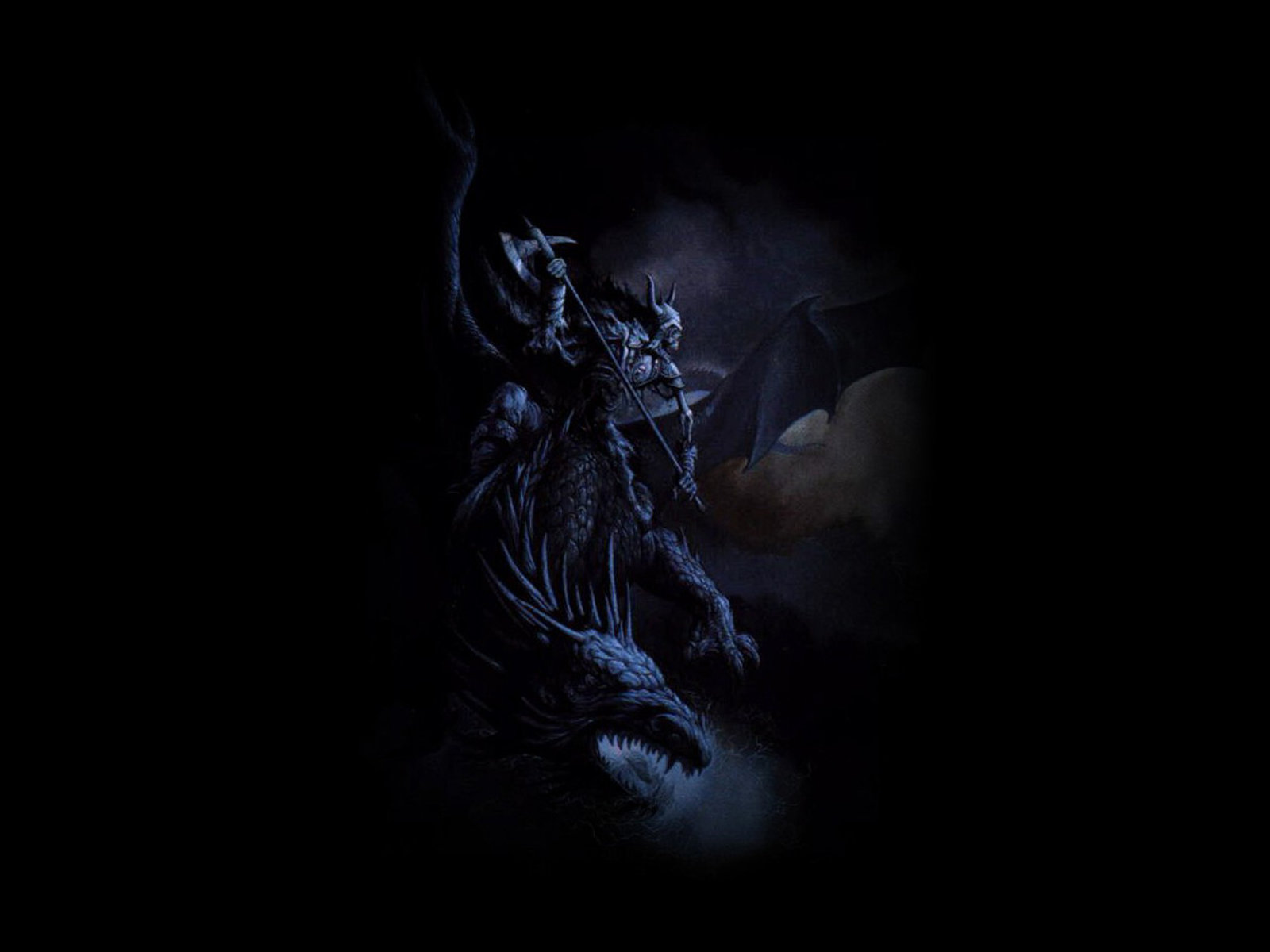 PC Dark Warrior Wallpapers Wim Measor