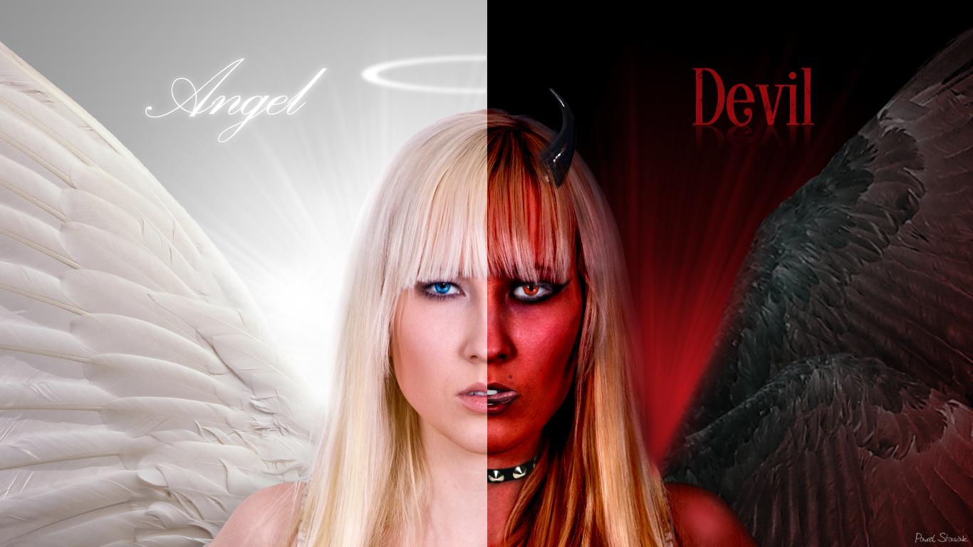 фото ангел и бес данного