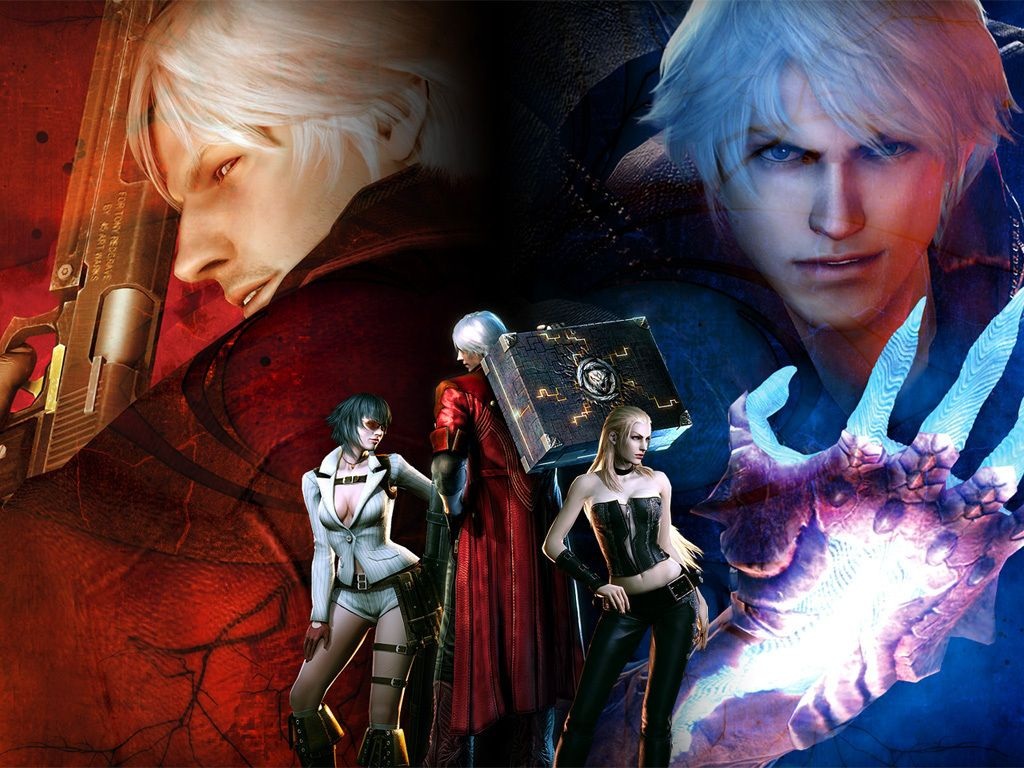 Preview Devil May Cry 4 Background By Dmitar Brealey
