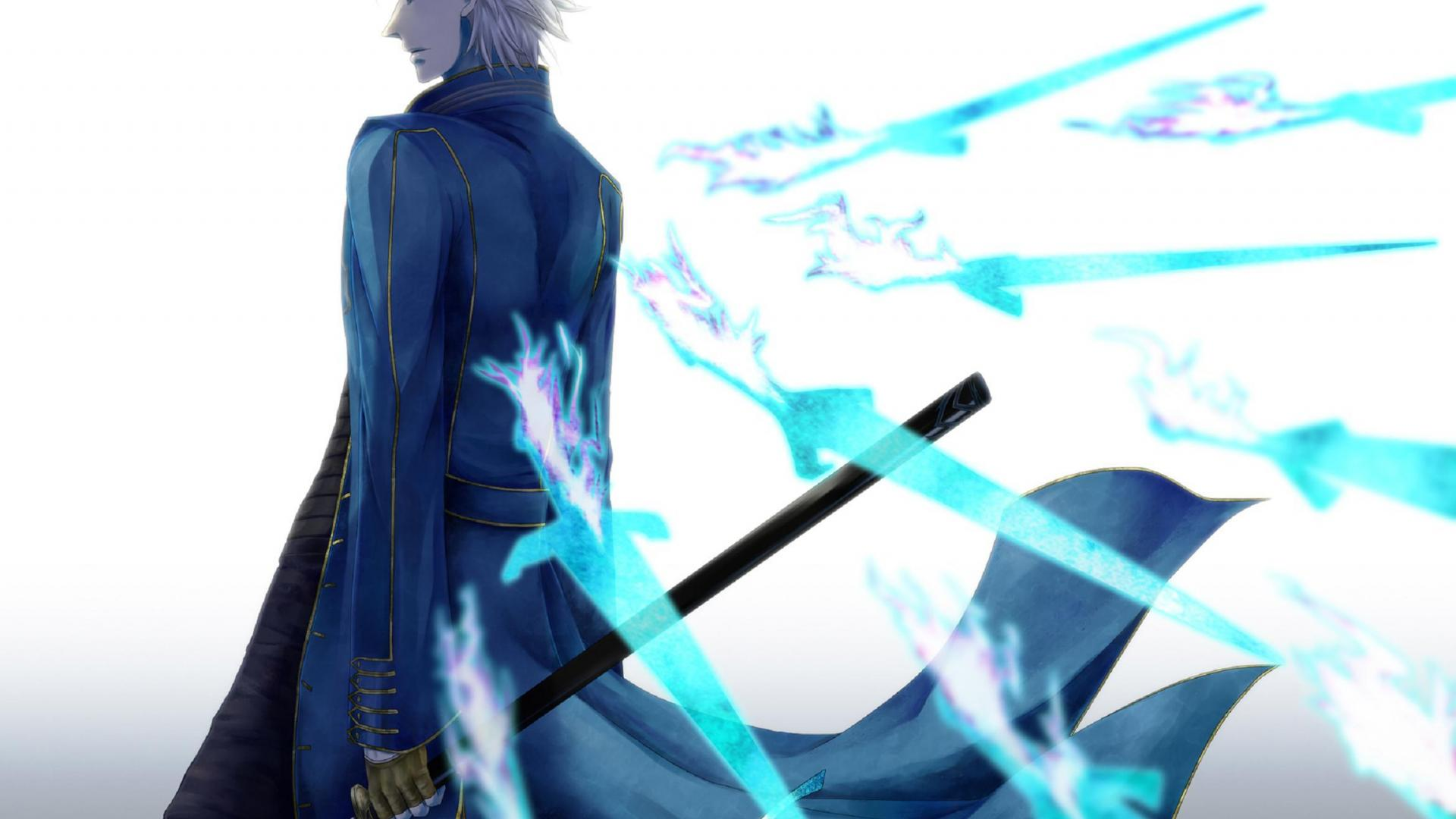 Vergil Yamato Sword Hd Wallpaper: 30 Pictures Of Devil May Cry Vergil In HQ Definition